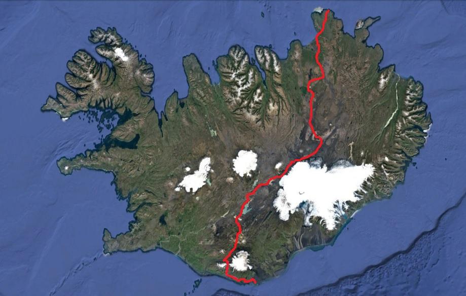 מסלול חציית איסלנד