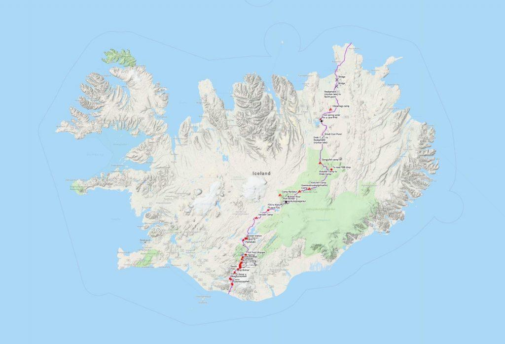 מסלול חוצה איסלנד